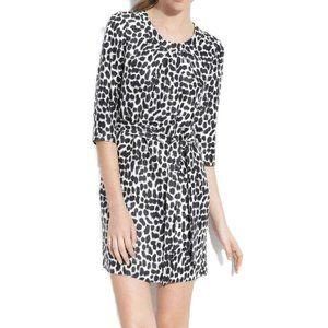 Kate Spade Animal Print Fit Flare Dress 4